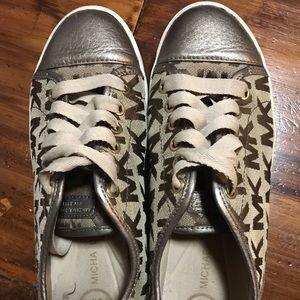 MK Michael Kors Leather Sneaker